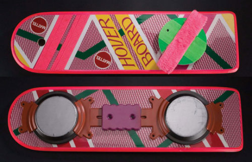 "Official Mattel ""Back To The Future"" Hoverboard Available Again"