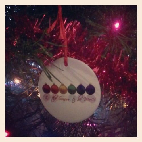 Ornament mom got me last Christmas :) #LGBT #lesbian #Christmas #ornament