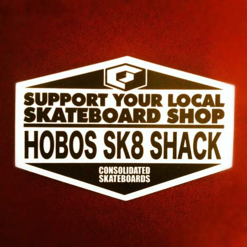 Hobo's Sk8 Shack X Consolidated Skateboards Collab.