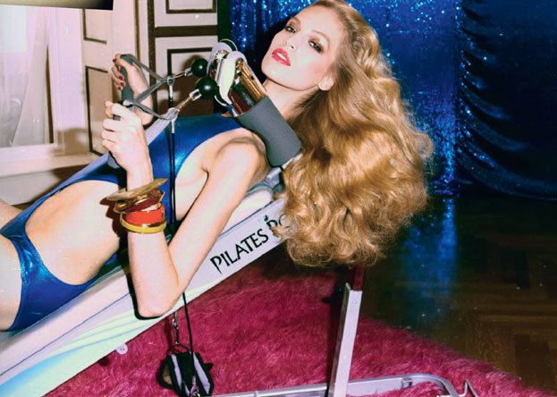 High Gloss, Vanessa Axente photographed by Steven Meisel for Vogue Italia Dec 2012