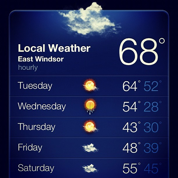 I'm glad it's December third. #globalwarming #2012 #apocalypse #warm #winter