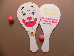 "Bill Murray Week Contest #2 by Derek Eads  ""Grimm Paddle Ball"""