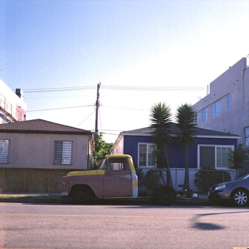 carsontheside:  Ford Truck on Abbot Kinney