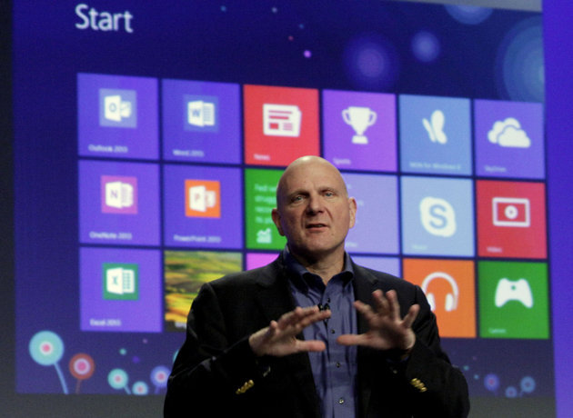 "Steve Ballmer's Nightmare is Coming True. (I had to include the image - yet another great picture of Ballmer.)  Windows 8 doesn't seem to be reasserting the dominance of the PC. Windows Phone is not a viable third platform. Bing is still burning money. The Microsoft nightmare scenario is actually becoming a reality.  Some if the ""analysis"" is a little simplistic and aggressively generalises. It would be nice to have more numbers and less opinion, but the general message is absolutely right. Gruber summarises the point perfectly:  In a nut, Microsoft is losing relevance. That's deadly.  Yep."