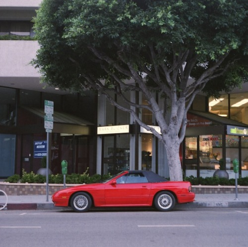 carsontheside:  Mazda RX7 in Westwood Village