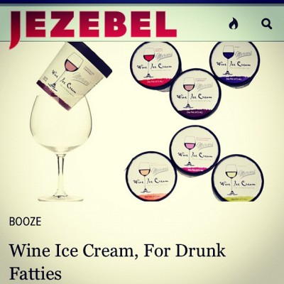 Bahahhahahahahahahahh @leamsie u crack me up! But seriously! #wine #icecream?