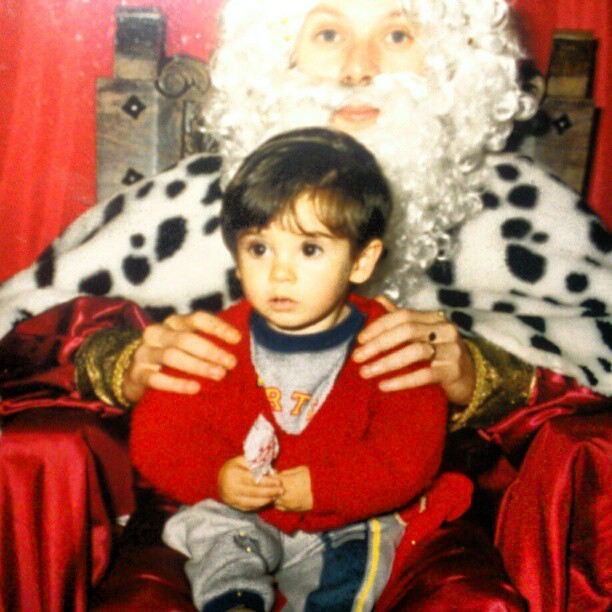 Con mi Rey Mago favorito, Melchor. #little #small #Christmas #wise #Men #theWiseMen #memories