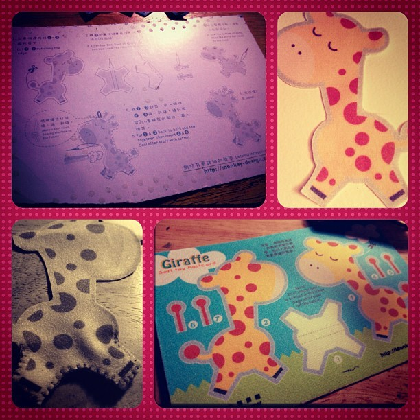 Raffy, the Giraffe. :D #diy #craft
