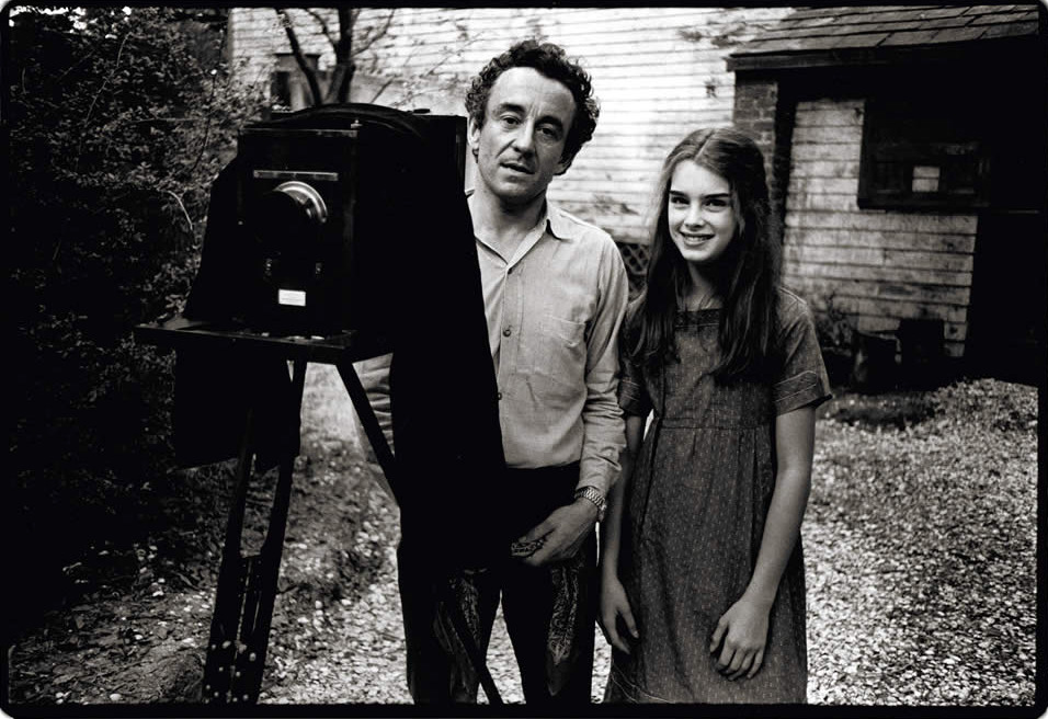 stevebolander:  Louis Malle and Brooke Shields on the set of Pretty Baby (1978).