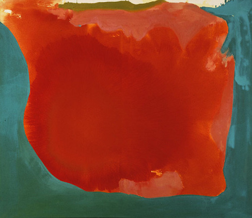 Helen Frankenthaler Canyon, 1965 acrylic on canvas, 44 x 52 inches