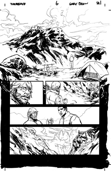 Inks for page 21 of issue 6.