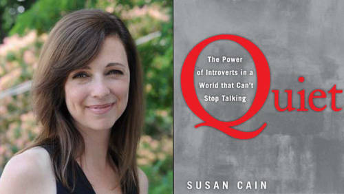 Susan Cain's bestseller Quiet: The Power of Introverts in a World That Can't Stop Talking was recently voted as Goodreads' Best Nonfiction Book of 2012. Congratulations Susan!