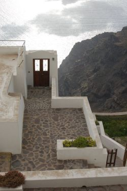 Door to Nowhere - Santorini, Greece