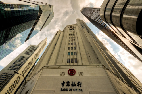 theurbanlion:  Bank Of China (by AyuREADY)