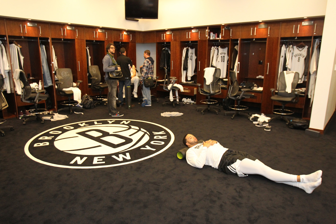 Check out a tour of our locker room and Barclays Center facilities right here