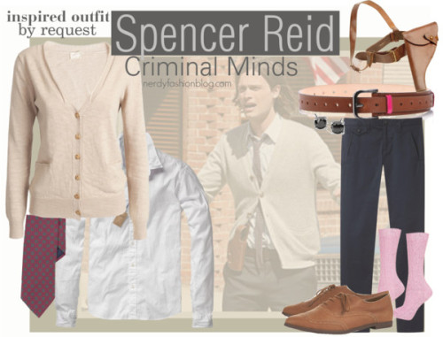 Spencer Reid | Criminal Minds - Inspired Outfit by chelsealauren10
