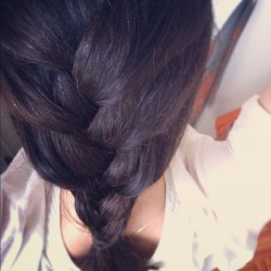 Today's braid.