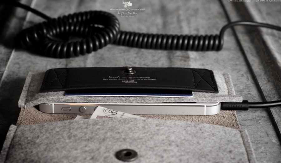 iPhone Fold Wallet by Hard Graft  @ ShockBlast