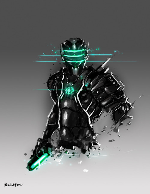 geeksngamers:  Omega Suit - by Benedick Bana On sale at Society6