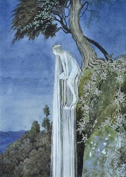venusmilk:  The Waterfall FairyIllustrated by Ida Rentoul Outhwaite