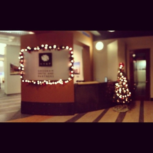 It's Christmas time in the office! @gresham_smith #rva #interiordesign