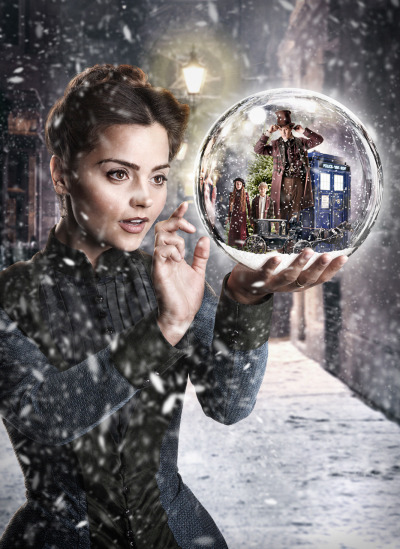 doctorwho:   Promo image from Doctor Who: The Snowmen  I could not be more excited about this!