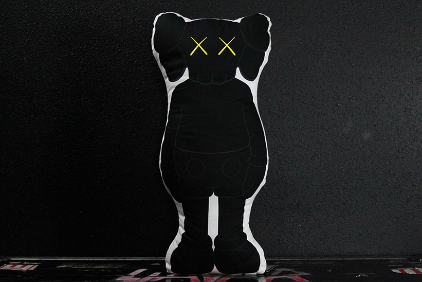 Original Fake Autumn/Winter 2012 - KAWS Companion Cushion (Black Version) Available Now.
