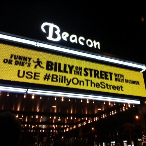 He's making dreams come true #billyonthestreet
