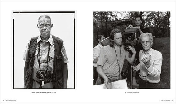 aluisbarron:  Lee Friedlander, Richard Avedon, 2004 Richard Avedon, Lee Friedlander, 2004
