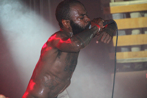 Death Grips at The Crocodile, Seattle, 11-29-2012 Photo credit: Brittany BrassellMore photos at the KEXP Flickr.