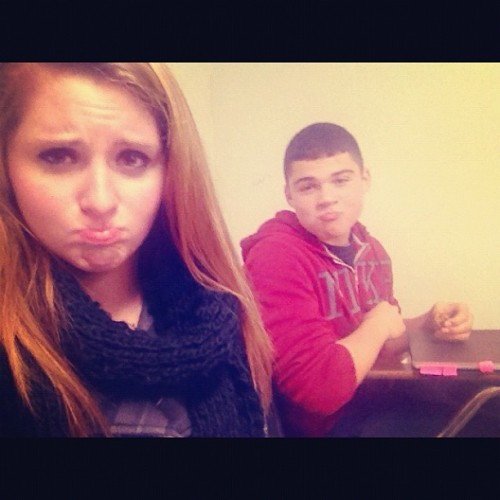 In the torturous classroom… #lovethiskidthough