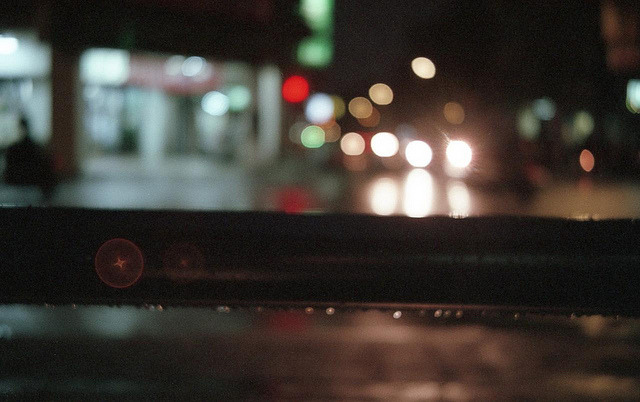 Rain droplets on Flickr.Olympus Trip 35, Agfa Vista 400