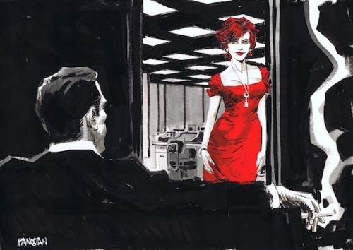 'Mad Men' Characters Drawn Comic Book-Style