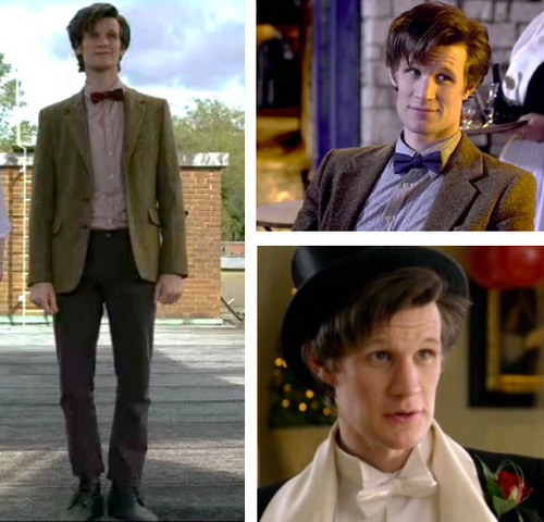 eleventh doctor bow ties