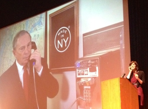 nycdoitt:  What's the potential for the City's public payphones? Tonight we launched the city's first payphone design challenge, Reinvent Payphones, at the New York Tech Meetup. Participate in Reinvent Payphones and create virtual and/or physical prototypes that modernize existing payphone infrastructure for a safer, more sustainable, accessible, and informed city. Join urban designers, technologists, and policy experts and submit your prototype by February 18th, 2013. Visit nyc.gov/reinventpayphones to learn more and register for updates. Take part in telecommunications history!