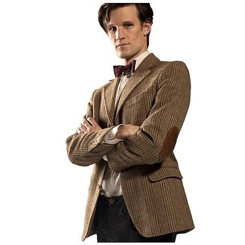 The Eleventh Doctors Professorial Stylings
