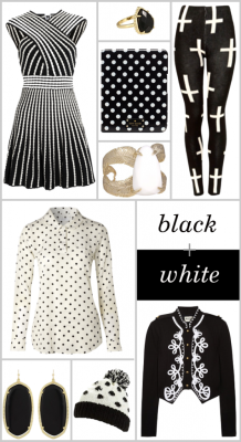 black and white products! {ks}