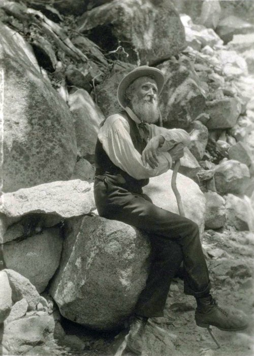 Our main man, John Muir.
