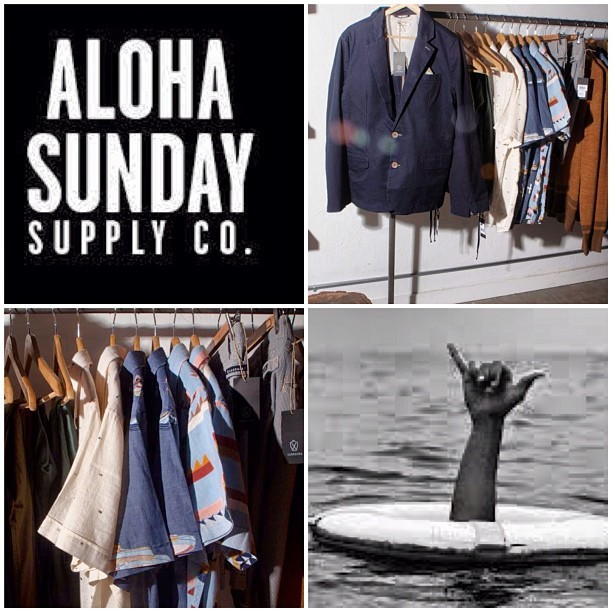 @thealohasunday welcome to the @zanerobeaus FAM! #sandiego go see the #yourwe collection! #zanerobe #noblegentlemen