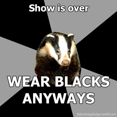 thebackstagebadger:  Submitted by wrongwaybutfun Official Backstage Badger Shirt Information Here!