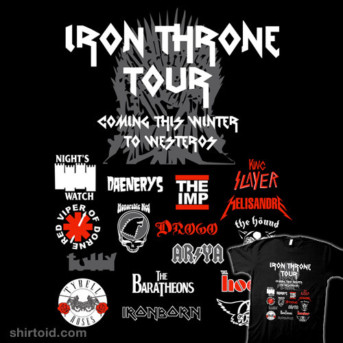 shirtoid:  Iron Throne Tour by IG-HateyHate is available at Redbubble