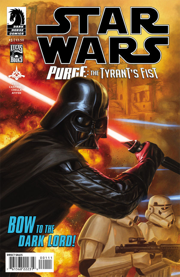Star Wars out today: Just one! Purge: The Tyrant's Fist #1.