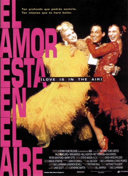 International Movie Poster: Strictly Ballroom - Spain