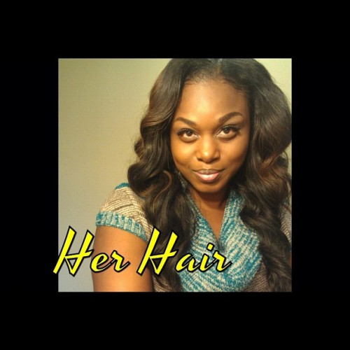 Check @creativediva12 out!! She stay rocking that #brazilian!! #isellhair I (at www.herhairluxury.bigcartel.com)