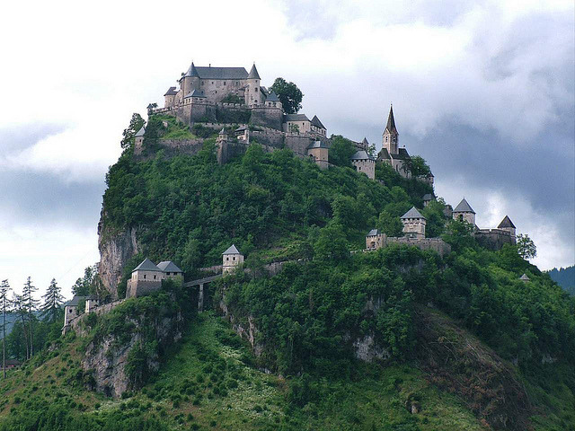 visitheworld:  Hochosterwitz Castle, considered to be one of Austria's most impressive medieval castles (by Gabriella Bottka).