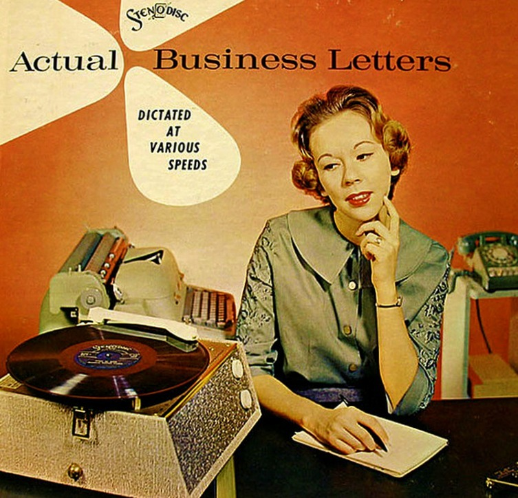 Actual Business Letters, 1960s   It's Better than Bad
