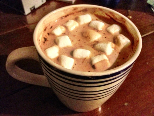 Winter hot chocolates.