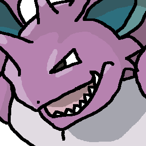 POKEDDEX MEME DAY 4 - Poison Type THE KING! Nidoking!  I always wish I could find a way to use one, but to date have failed.