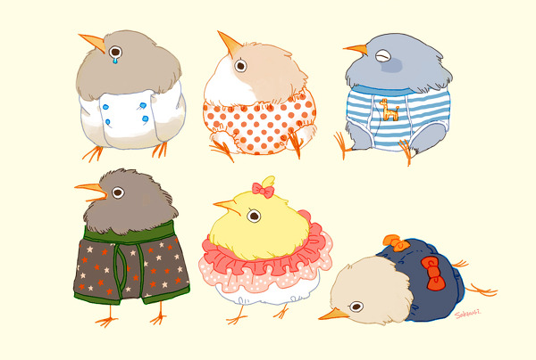 fat-birds:   おぱんちゅ  Happy New Year, everyone! Party hard and be safe.