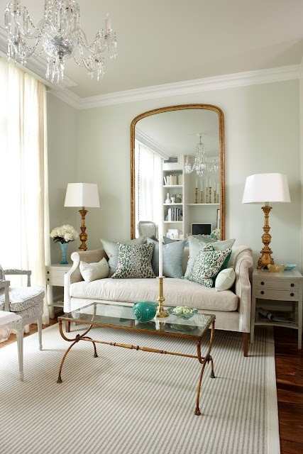 french chic living room